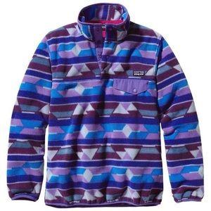 Patagonia Synchilla Snap-T Fleece Pullover Aztec